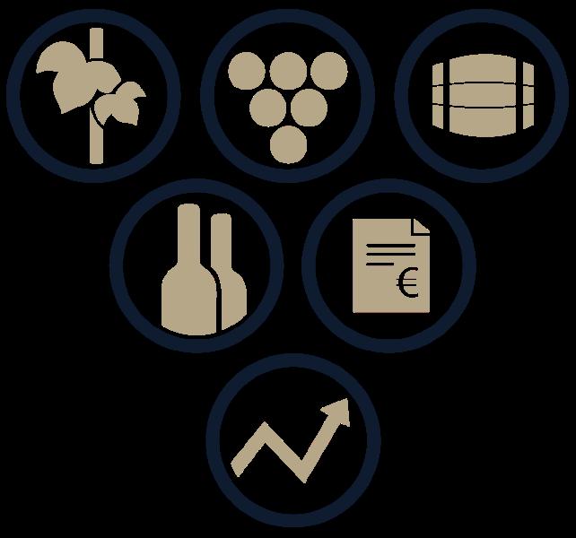 Funktionen der WineNet Software - unterstützt bei der Kellerbuchführung