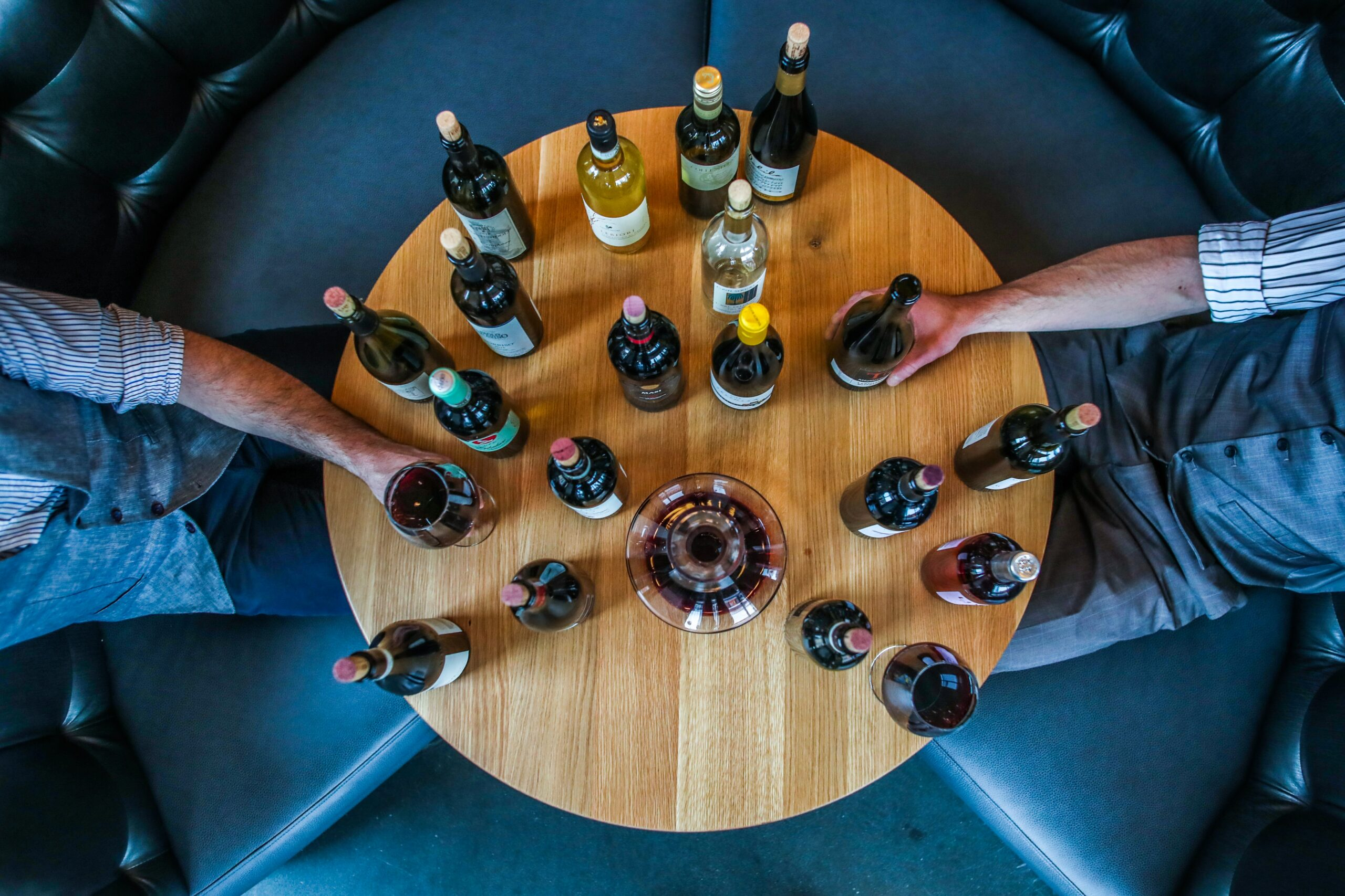 Weinverkostung Vinothek